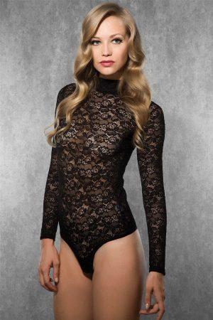 Doreanse Black Sexy Bodysuit