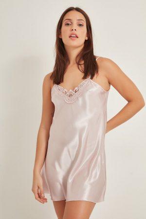 Powder Women Satin Nightgown